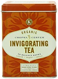 Harney and Sons Chopra Organic Tea Sachets, Invigorating Tea, 20 Count, 1.48 oz
