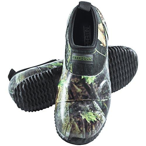 Nitehawk Camouflage Neoprene Slip On Waterproof Fishing/Hunting Shoes