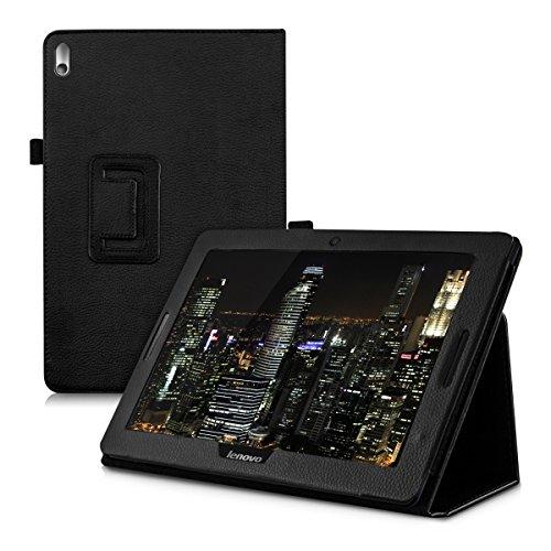 kwmobile Lenovo IdeaTab A10-70 (A7600) Hülle - Tablet Cover Case Schutzhülle für Lenovo IdeaTab A10-70 (A7600) mit Ständer