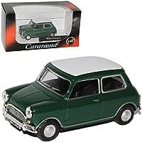 Mini Cooper ocker 1969 1:43 Cararama Modellauto alt Die-cast