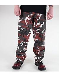 Pantalon Camouflage US Type BDU Ranger red camo