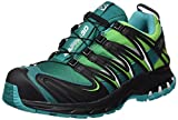 Salomon Damen L39071300 Traillaufschuhe, Grün Veridian Tonic Green/Teal Blu, 42 EU