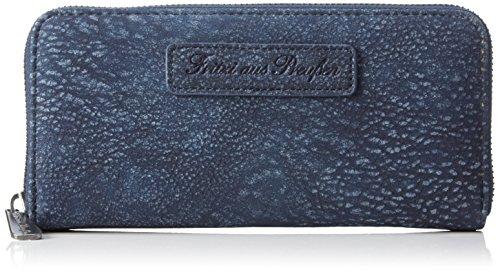 Fritzi Aus Preussen Damen Nicole Geldbörsen, Blau (Jeans-KU), 20x10x3 cm (Denim Lehrer)