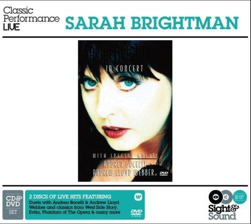 Sarah Brightman In Concert featuring Andrew Lloyd Webber & Andrea Bocelli (CD+DVD) (2008-07-15)