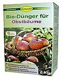 SCHACHT BIO-Dünger für Obstbäume, Obstbaumdünger organisch 2 kg