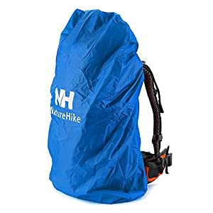 51Je8%2BXcKiL. SS300  - HYSENM Folding Waterproof Dustproof 20~75L Backpack Rucksack Cover For Travel Cycling Climbing Hiking Outdoor Sports