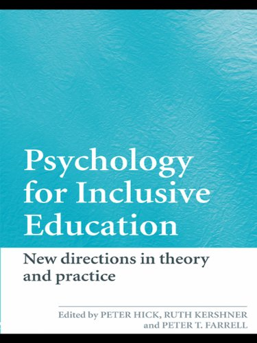 Psychology for Inclusive Education: New Directions in Theory and Practice