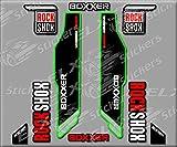 PEGATINAS ROCK SHOX BOXXER BIKE R234 STICKERS AUFKLEBER DECALS AUTOCOLLANTS ADESIVI NEGRO2