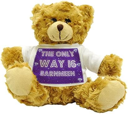 The The The Only Way Is Barnmeen-Ours en peluche 22 cm de haut environ B017NTTH7M fb4be6