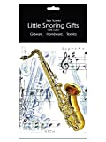 Little Snoring Gifts: Tea Towel (Saxophone)