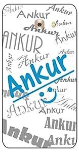 APE Name (ANKUR) Print Back Cover for Samsung Galaxy J5 Prime