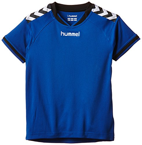 Authentic Blau Jersey (Hummel Kinder Trikot Stay Authentic Jersey,  03-554-7045, True Blue,14-16 EU)