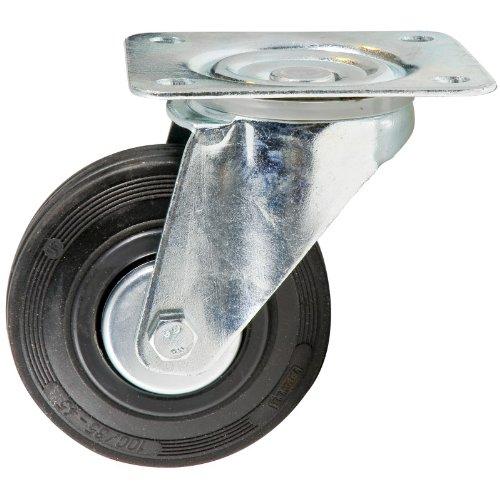 Provence Outillage 2526 Roulette pivotante 100 mm sans frein