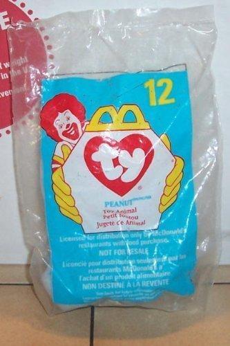 1998 Mcdonalds Ty Teenie Beanie Peanut Happy Meal Toy #12...