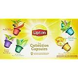 Lipton Thés et Infusions La Collection Capsule Coffret 10 Capsules 25g Compatibles Nespresso