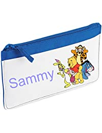 Personalised Winnie The Pooh, Tigger, Eeyore, Piglet, Roo Pencil Case - choice of colours - By Mayzie Designs®