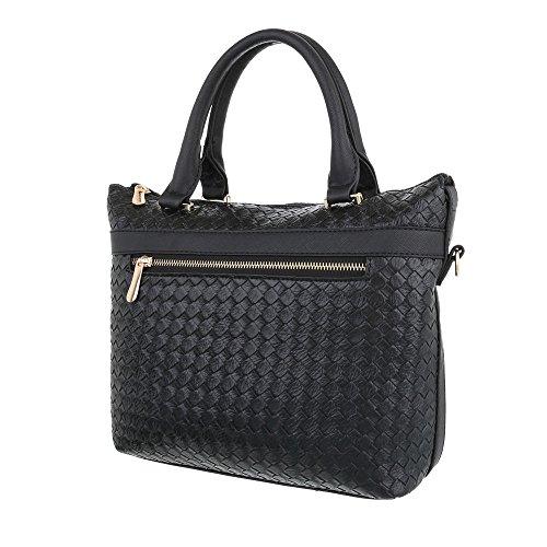Taschen Handtasche Schwarz