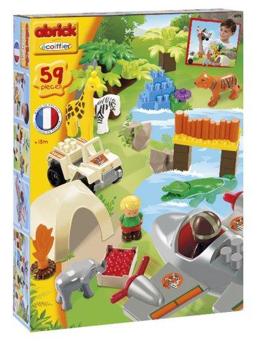 Ecoiffier - 3073 - Jeu De Construction - Safari Aventure - Abrick