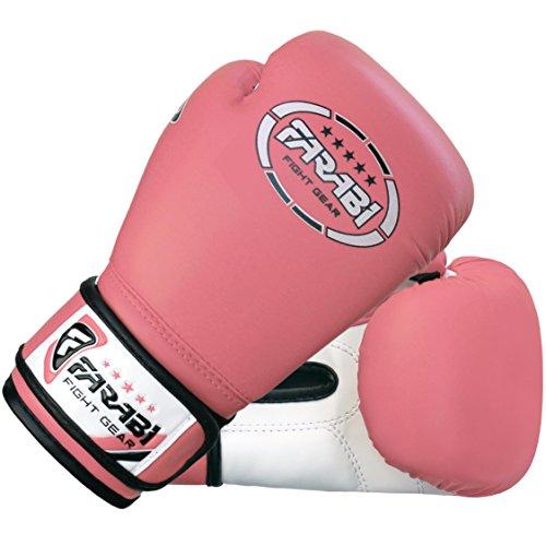 Gants de boxe Farabi uniques, MMA, Muay Thai et gants Punching Bag formation 6OZ, Rose Abbildung 3