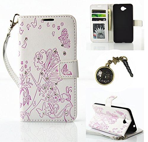 Preisvergleich Produktbild PU Silikon Schutzhülle Handyhülle Painted pc case cover hülle Handy-Fall-Haut Shell Abdeckungen für Nokia lumia 650 N650 +Staubstecker (3AA)