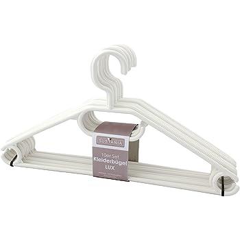 20x Kleiderbügel Kunststoff Bügel Wäschebügel Garderobenbügel stabil 40 cm breit