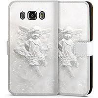 Samsung Galaxy J5 (2016) Tasche Hülle Flip Case Schutzengel Engel Angel