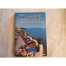 CUISINE GRECQUE.222 RECETTES.