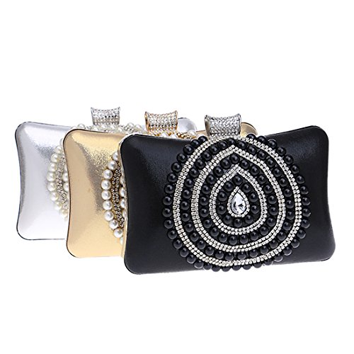 SSMK Evening Bags, Poschette giorno donna Black