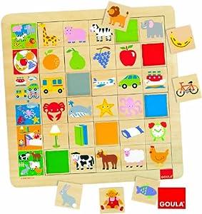 Goula - Asociación familias, juego educativo de 30 piezas (Diset 55124)