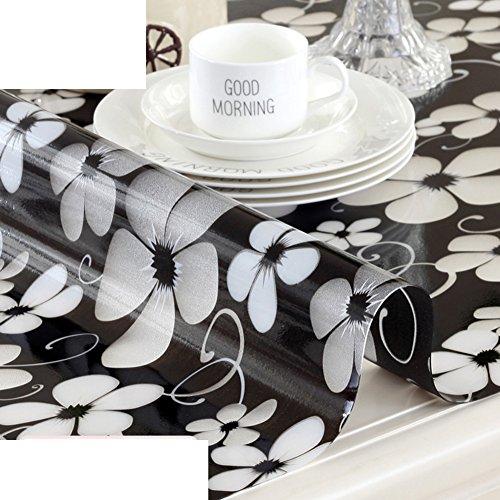 Paño Caliente PVC Impermeable Desechable Plástico Suave Cristal,Mesa Manteles Manteles,Las Placas De...
