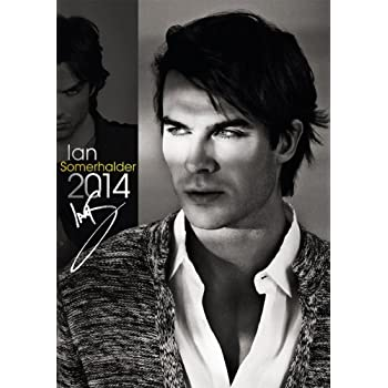 Official Ian Somerhalder 2014 Calendar
