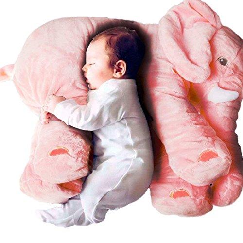OAMORE Súper Suave Elefante Almohada bebé Juguetes de Peluche de Regalo mimoso...