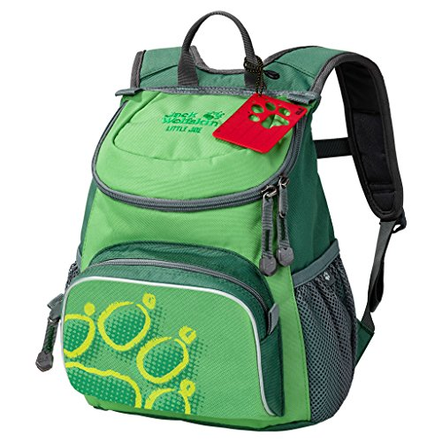 Jack Wolfskin Kinder Little Joe Rucksack, Leaf Green, ONE SIZE
