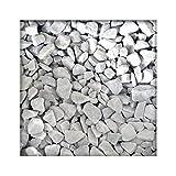 Kieskönig Marmorsplitt Carrara Weiss Marmorkies Gartenkies Zierkies Edelsplitt 22/30 mm 25 kg Sack