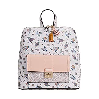 51JeL4nly2L. SS324  - Parfois - Mochila Rose Efecto Floral - Mujeres