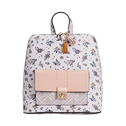51JeL4nly2L. SS416  - Parfois - Mochila Rose Efecto Floral - Mujeres