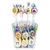 Produkt-Bild: 100 Lutscher Tri D Aix Rocks Lutscher Frucht a 10g Orginal Lolly 1kg