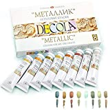 Nevskaya Palitra Acrylfarbe Metallic | 8 x 20 ml Farbset | Metallic Farben