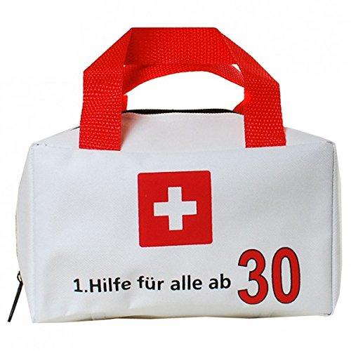 """Tasche """"1. Hilfe für alle ab 30"""" ungefüllt"""