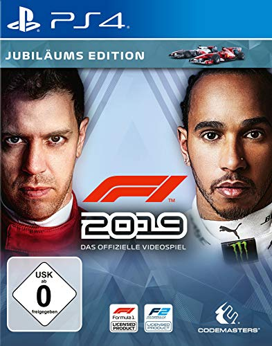 F1 2019 Jubiläums Edition [Playstation 4] (Spielen Wagen)