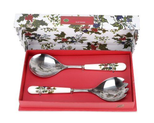 the-holly-ivy-salad-servers-multi-colour-set-of-2