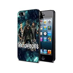 WD07 Watch Dogs Game Silikon Schutzhülle für Nexus 4 Hülle Pvc Cover Case Black@UTMSHOP