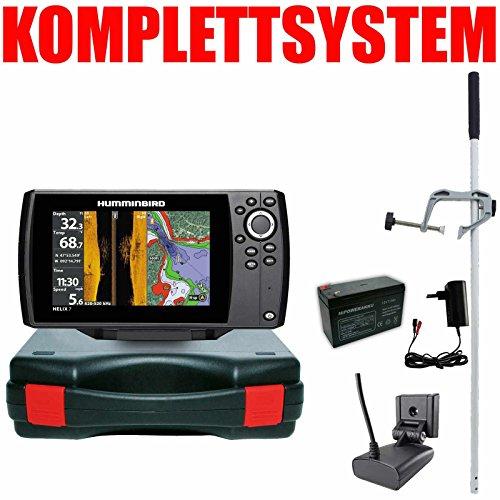 Humminbird Echolot GPS Portabel Master - Helix 7 Chirp GPS Mega SI G3