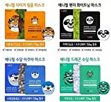 [SNP Cosmetic] Animal Mask 1ea - 4 Type (Total 4 Types - 4 Sheets) by SNP Cosmetic