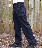 Dickies Redhawk Ladies Womens Cargo Pocket Workwear Pants Trousers Navy, Black