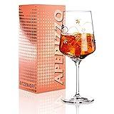 RITZENHOFF Aperizzo Aperitifglas von Concetta Lorenzo, aus Kristallglas, 600 ml, mit edlen Goldanteilen