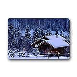 Personal Custom schnee im winter Fu?matten Doormat Outdoor Indoor 18