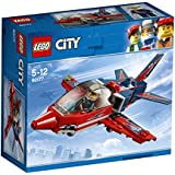 LEGO City Airshow Jet  Building Blocks for Kids 5 to 12 Years (87 Pcs) 60177