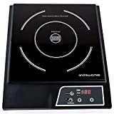 Andrew James Digital Electric Induction Hob 2000 Watt As Seen On BBC Masterchef