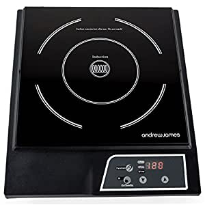 Andrew James Digital Electric Induction Hob 2000 Watt